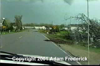 Tornado Damage in Glenville